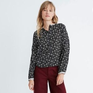 Madewell | Print Mix Meadow Shirt in Branch Floral